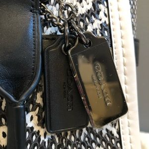 Coach Bags - Coach Color-block 27 Swagger in genuine snakeskin